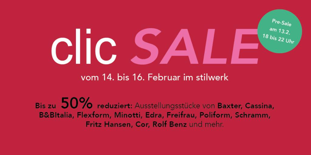 clic Sale im Februar 2019
