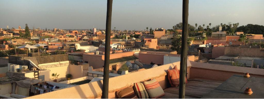 Warum der Himmel über Marrakesch voller Teppiche ist
